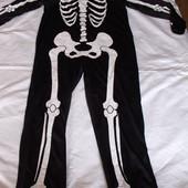 Канавальный мужской костюм скелета р.l-xl