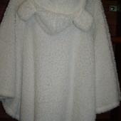 Пижама-пончо, женская, размер M, пушистый флис