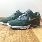 Кроссовки Nike Air Max 90 Green, р. 40-44, код mvvk-1190