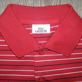 Lacoste футболка поло в отличном состоянии