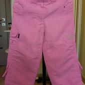 Фирменные штаны на подкладке на 2-4 года сезон весна
