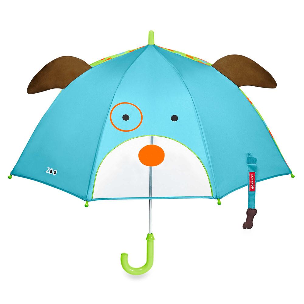 Детский зонтик. собачка. skip hop zoo. фото №1
