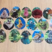 Картинки Angry birds 3 d.
