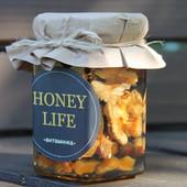 Витаминная смесь :курага,чернослив(вяленый),инжир,финик,грецкий орех,мёд Honey Life