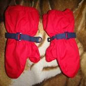Красные варежки JoJo Maman Bebe 3-5 лет