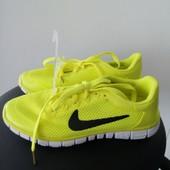 Кроссовки Nike free run р 36-41
