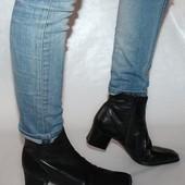 Ботинки 40 р Ara Германия кожа оригинал демисезон