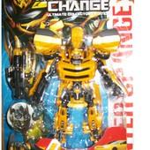 Робот трансформер Бамблби!