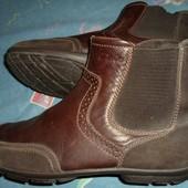 Ботинки полу сапоги кожаные 44 размер