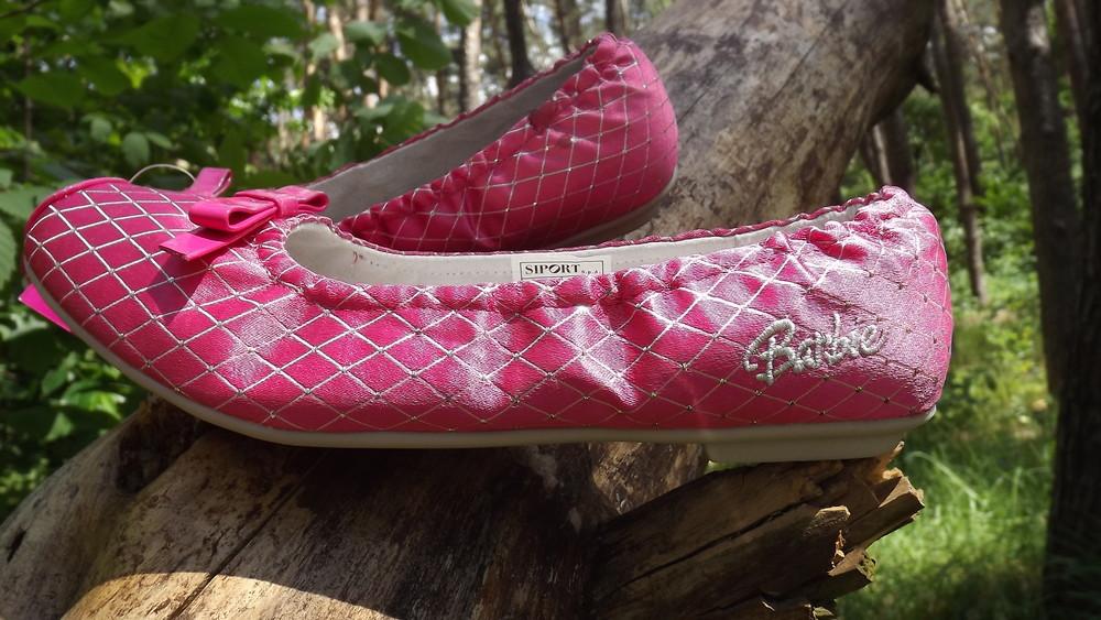 Туфли балетки barbie кожа внутри 25,26,27,28 размер фото №1