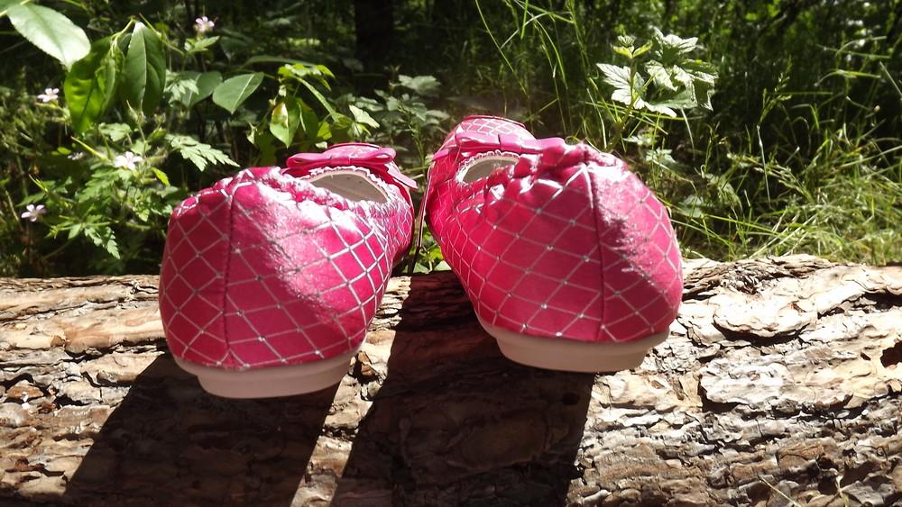 Туфли балетки barbie кожа внутри 25,26,27,28 размер фото №7