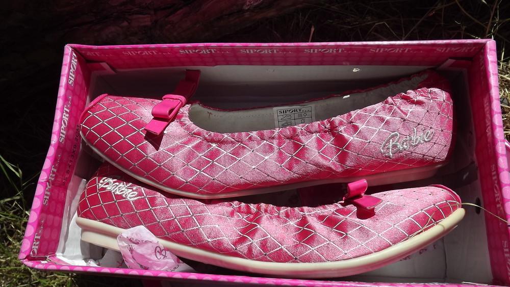Туфли балетки barbie кожа внутри 25,26,27,28 размер фото №9