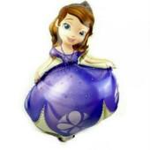 Фольгированный воздушный шарик принцесса София 93см.