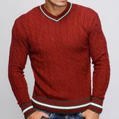 Теплый мужской свитер ,-15356