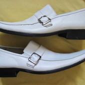Ferromen (43, 27,5 см) кожаные туфли монки мужские
