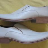 Blucci (43, 27,5 см) кожаные туфли мужские Италия
