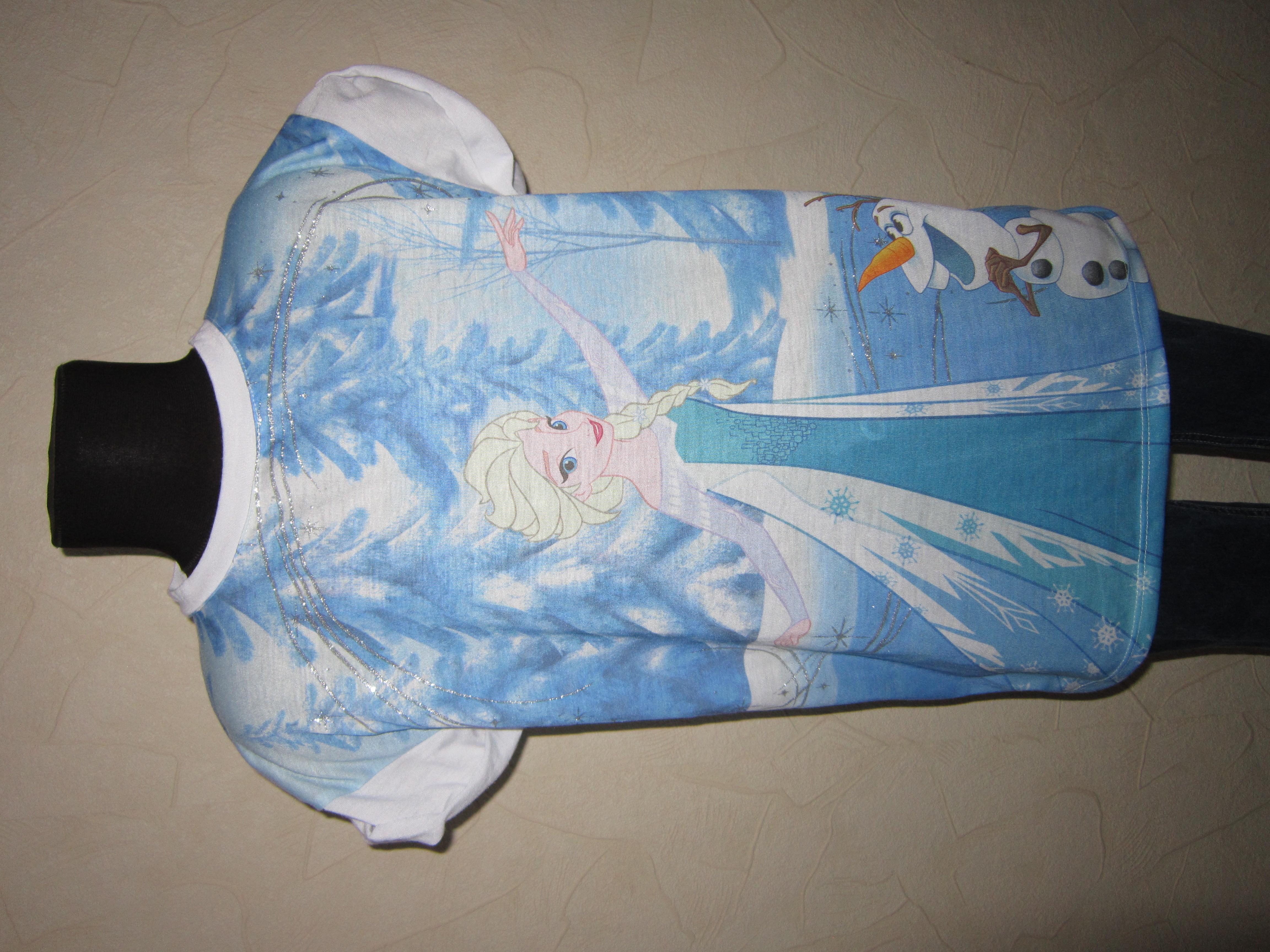 На 9-10,5 лет Яркая футболка Frozen от Young Dimension девочке