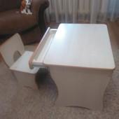 Столик со стульчиком.Детская мебель