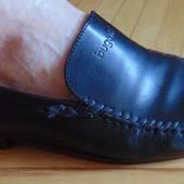 Фирмовые стильные брендовые кожаные туфли Bugatti.43