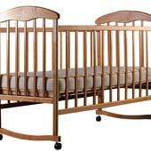 Кроватка Наталка (ольха светлая)