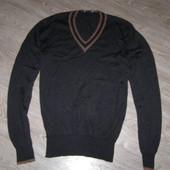 Gucci свитер Италия Оригинал. Шерсть+Шелк М-размер
