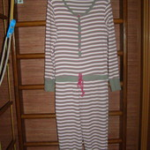 Пижама хлопковая, женская, размер L, рост до 175 см, George