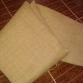 Отрез ткани плотной мешковины 108×160 см