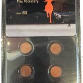 Комплект для ремонта кия Royal Professional: 6 наклеек в комплекте