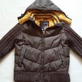 Фирменная стильная пуховая куртка NEXT pазмер S
