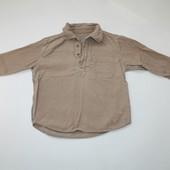 2-3 г.Вельетовая рубашка от Mothercare
