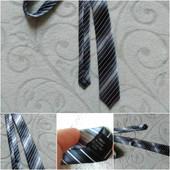 Классический галстук.Полосатый.