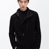 Модная мужская куртка из натуральной кожи от Zara. Лимитированая серия