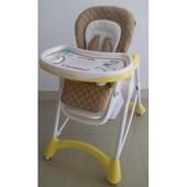 Стульчик для кормления Carrello Caramel Baby Tilly crl-9501, yellow