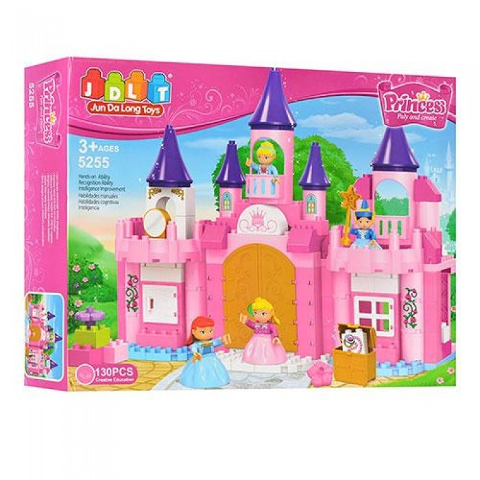 """Конструктор """"замок принцессы"""" jdlt 5255 фото №1"""