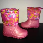 Сапоги сноубутсы ботинки на девочку 28-35 размеры Акция
