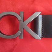 Качественный кожаный ремень Calvin Klein