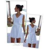 Сарафан с поясом, Дива, креп шифон, летнее платье, шифоновое,