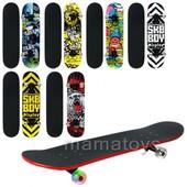Скейт деревянный 0355 Полупрофессиональный 79 х 20см