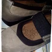 Туфли на осень или весну.Фирма Hush Puppies.Стелька 24.5 см.