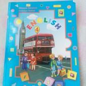 Книги для ребёнка 4й класс англ, укр.мова, лит.чит.