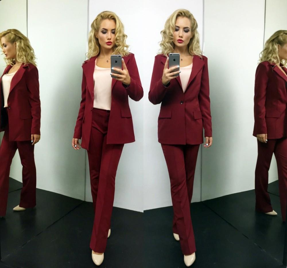 943b5d51583 Шикарный женский деловой костюм брюки + удлиненный пиджак !беж