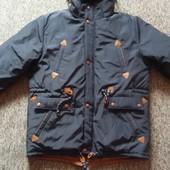 Зимняя куртка парка на меху, новая, смотрите замеры