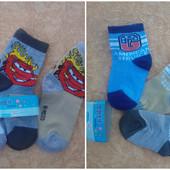 Носочки для хлопчиків 0-2 роки та 4-8 років.