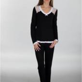 Женские пижамы 5 расцветок размеры до 2ХЛ  Польша