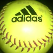 Мячик для софтбола Адидас  ellie bernero