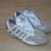 Geox respira 40р кроссовки кожаные.