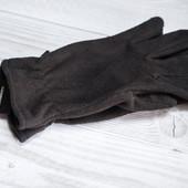 Мужские перчатки осень, флис С&A. Большой размер