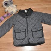 Стеганная деми куртка не модного мальчика