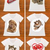 Любое фото на футболку!!!!Обновите гардероб!Сделайте подарок близким!