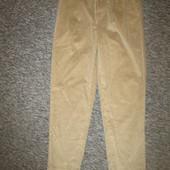 брюки новые Eololie Boner р 34=36 вельвет пот 45